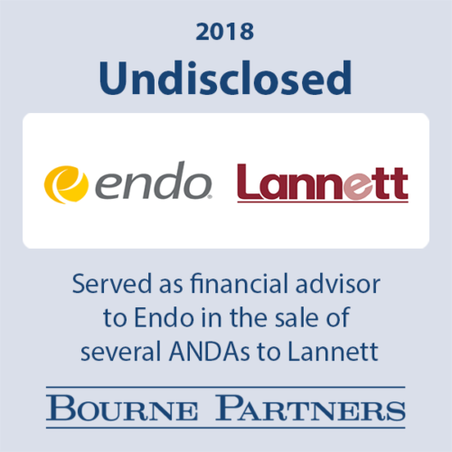 Endo Lannett large 500x500 - Investment Banking