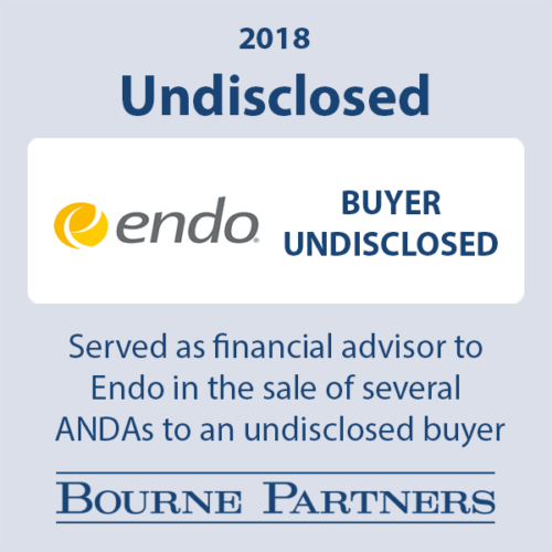 Endo undisclosed 500x500 - Investment Banking
