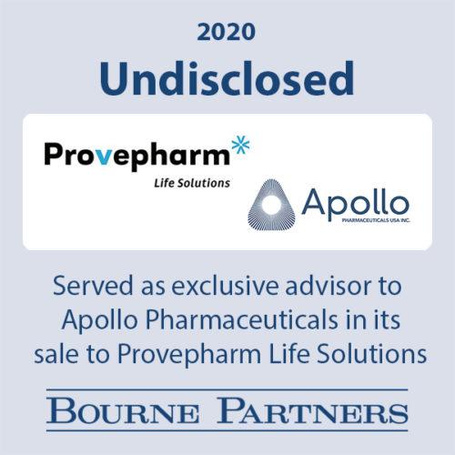 Provepharm Apollo 500x500 - Investment Banking