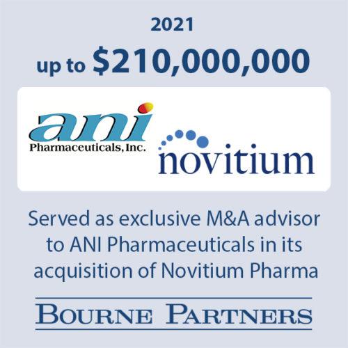 ANI Novitium 500x500 - Investment Banking